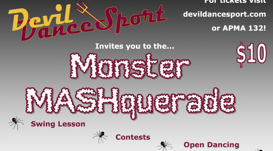 Monster Mashquerade Banner